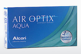 Lensa kontak Alcon AIR OPTIX AQUA (AIR OPTIX AQUA AOA3)