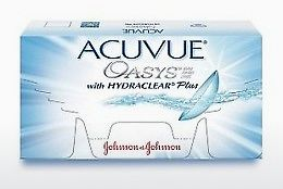 Lensa kontak Johnson & Johnson ACUVUE OASYS with HYDRACLEAR Plus PH-6P-REV