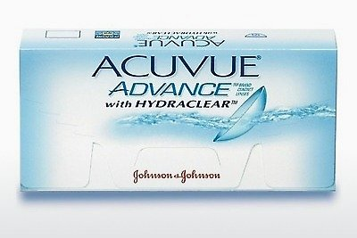 Lensa kontak Johnson & Johnson ACUVUE ADVANCE with HYDRACLEAR AVG-6P-REV