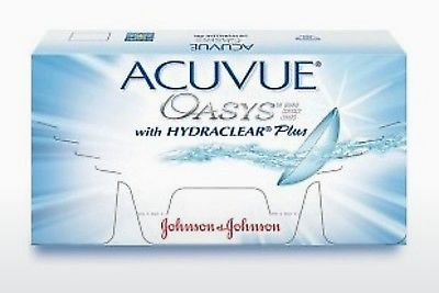 Lensa kontak Johnson & Johnson ACUVUE OASYS with HYDRACLEAR Plus PH-12P-REV