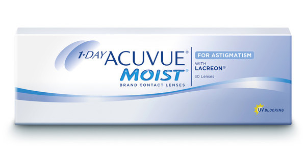 Johnson & Johnson 1 DAY ACUVUE MOIST for ASTIGMATISM 1MA-30P-REV