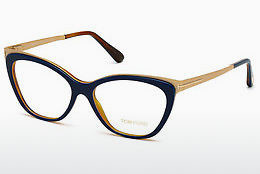 Kacamata Tom Ford FT5374 090 - Biru
