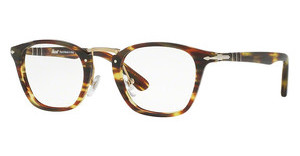 Persol PO3109V 938 GREEN STRIPED BROWN