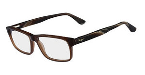 Salvatore Ferragamo SF2669 210 CRYSTAL BROWN
