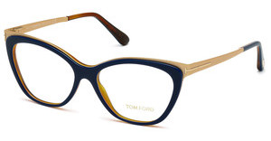 Tom Ford FT5374 090 blau glanz