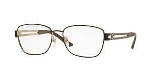 Versace VE1234 1369 PALE GOLD/MATTE BROWN
