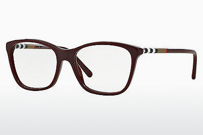 Kacamata Burberry BE2141 3403 - Merah, Bordeaux