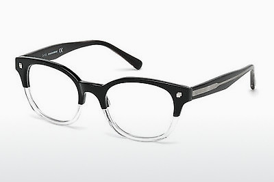 Kacamata Dsquared DQ5180 003 - Hitam, Transparent