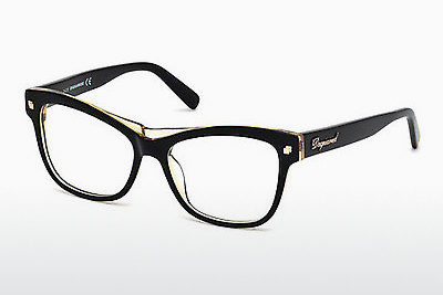 Kacamata Dsquared DQ5196 003 - Hitam, Transparent