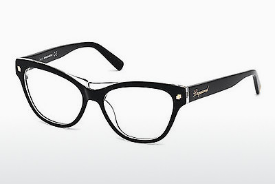 Kacamata Dsquared DQ5197 003 - Hitam, Transparent