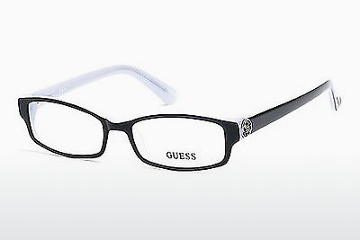 Kacamata Guess GU2526 003 - Hitam, Transparent