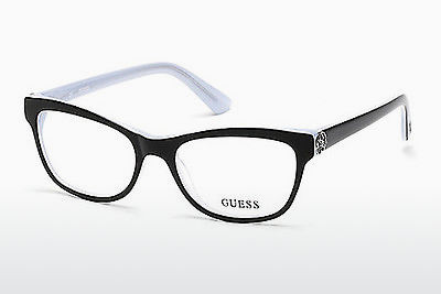 Kacamata Guess GU2527 003 - Hitam, Transparent