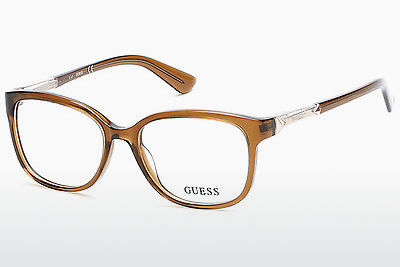 Kacamata Guess GU2560 045 - Coklat, Bright, Shiny