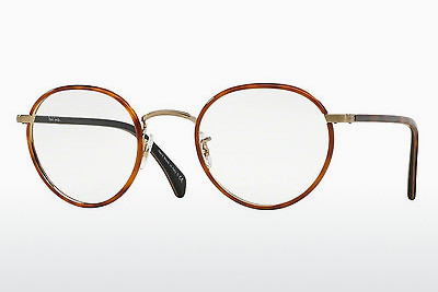 Kacamata Paul Smith KENNINGTON (PM4073J 5236) - Oranye, Coklat, Havanna, Keemasan