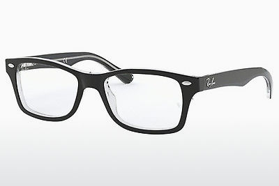 Kacamata Ray-Ban Junior RY1531 3529 - Hitam, Transparan