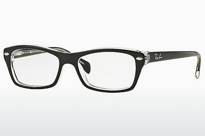 Kacamata Ray-Ban Junior RY1550 3529 - Hitam, Transparan