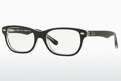 Kacamata Ray-Ban Junior RY1555 3529 - Hitam, Transparan