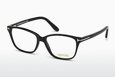 Kacamata Tom Ford FT4293 001 - Hitam, Shiny