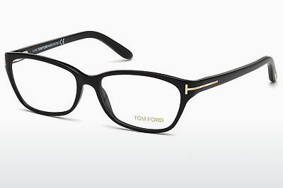 Kacamata Tom Ford FT5142 001 - Hitam, Shiny