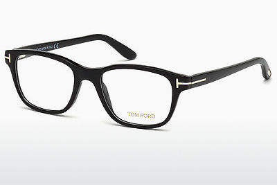 Kacamata Tom Ford FT5196 001 - Hitam, Shiny