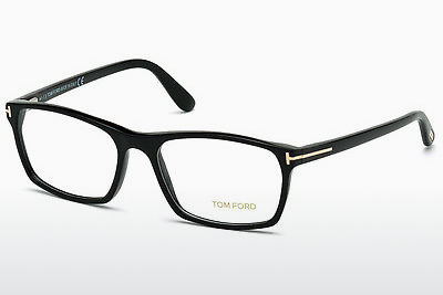Kacamata Tom Ford FT5295 001 - Hitam, Shiny