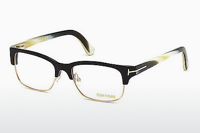 Kacamata Tom Ford FT5307 001 - Hitam, Shiny