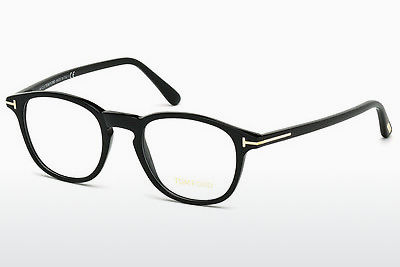 Kacamata Tom Ford FT5389 001 - Hitam, Shiny
