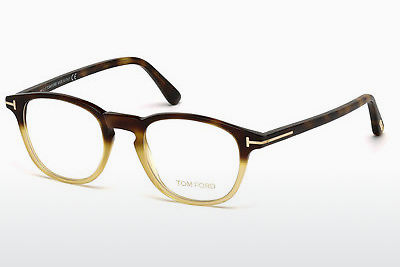 Kacamata Tom Ford FT5389 053 - Havanna, Yellow, Blond, Brown