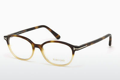 Kacamata Tom Ford FT5391 053 - Havanna, Yellow, Blond, Brown