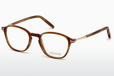 Kacamata Tom Ford FT5397 062 - Coklat, Horn, Ivory