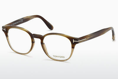 Kacamata Tom Ford FT5400 65A - Warna tanduk, Horn, Brown