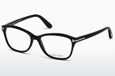 Kacamata Tom Ford FT5404 001 - Hitam, Shiny
