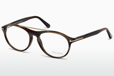 Kacamata Tom Ford FT5411 062 - Coklat, Horn, Ivory