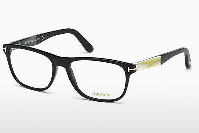 Kacamata Tom Ford FT5430 001 - Hitam, Shiny