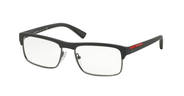 Prada Sport PS 06FV TFZ1O1 GREY RUBBER