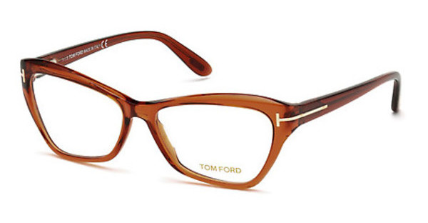 Tom Ford FT5376 042 orange glanz