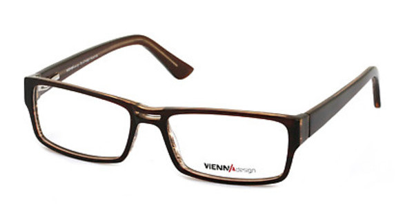 Vienna Design UN368 02 dark brown-x'tal brown glitter