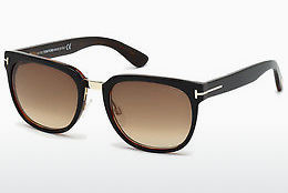 Kacamata surya Tom Ford Rock (FT0290 01F) - Hitam, Shiny