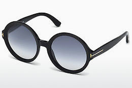 Kacamata surya Tom Ford Juliet (FT0369 01B) - Hitam, Shiny