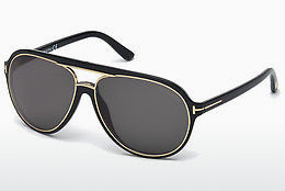 Kacamata surya Tom Ford Sergio (FT0379 01A) - Hitam, Shiny