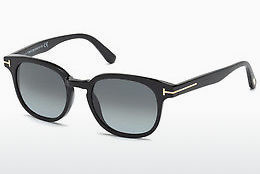 Kacamata surya Tom Ford Frank (FT0399 01N) - Hitam, Shiny