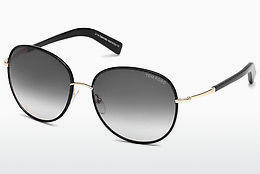 Kacamata surya Tom Ford Georgia (FT0498 01B) - Hitam, Shiny