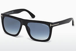Kacamata surya Tom Ford Morgan (FT0513 01W) - Hitam, Shiny