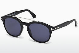 Kacamata surya Tom Ford Newman (FT0515 01V) - Hitam, Shiny