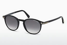 Kacamata surya Tom Ford Andrea (FT0539 01B) - Hitam, Shiny