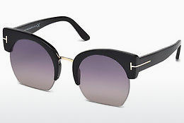 Kacamata surya Tom Ford Savannah (FT0552 01B) - Hitam, Shiny
