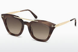 Kacamata surya Tom Ford FT0575 55K - Warna warni, Coklat, Havanna