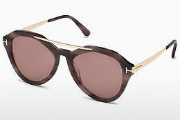 Kacamata surya Tom Ford FT0576 55Z - Warna warni, Coklat, Havanna