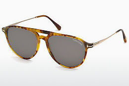 Kacamata surya Tom Ford FT0587 55N - Warna warni, Coklat, Havanna