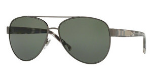 Burberry BE3084 10039A POLAR GREENGUNMETAL